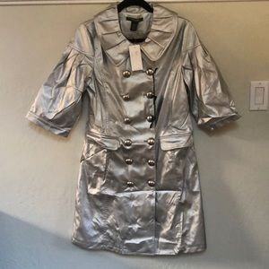 Vertigo Paris Silver Pea/Trench Coat